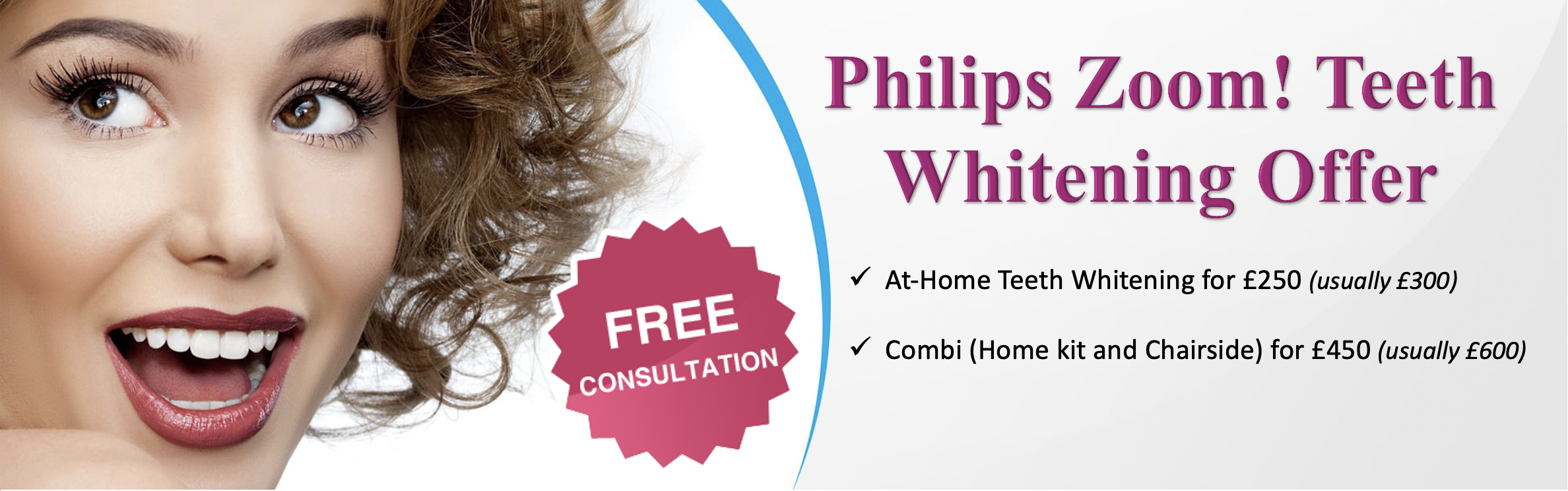 Philips Zoom Teeth Whitening in London - NW1 Dental Care